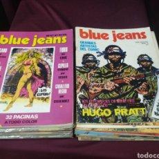 Cómics: BLUE JEANS COLECCION CASI COMPLETA FALTAN 4 NÚMEROS. NUEVA FRONTERA. Lote 200612622