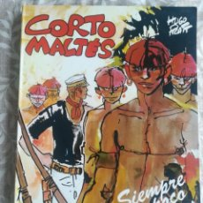Cómics: CORTO MALTÉS SIEMPRE UN POCO MÁS LEJOS. Lote 201566548