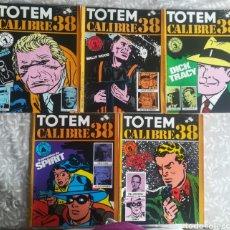 Cómics: CALIBRE 38 TOTEM COMICS 1,2,3,4,5. Lote 201566557