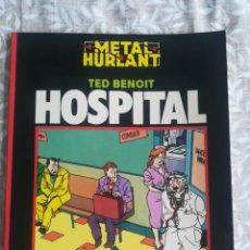 Cómics: METAL HURLANT HOSPITAL . Lote 201792248