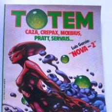 Cómics: TOTEM Nº 35 - CAZA / CREPAX / MOEBIUS / PRATT / SERVAIS .... Lote 202585368