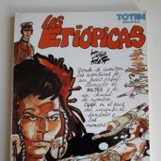 Cómics: LAS ETIOPICAS. CORTO MALTES. BIBLIOTECA TOTEM. Lote 203564387