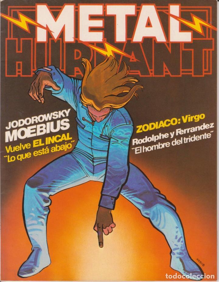 CÓMIC ` METAL HURLANT ´ Nº 18 ED. NUEVA FRONTERA 1981 (Tebeos y Comics - Nueva Frontera)