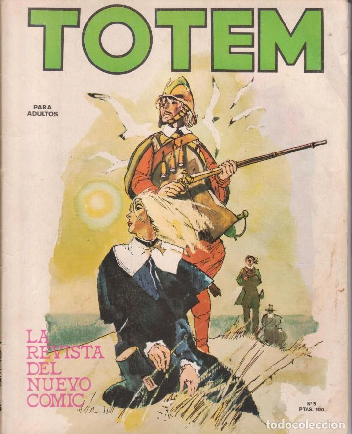 CÓMIC ` TOTEM ´ Nº 5 ED. NUEVA FRONTERA 1977 (Tebeos y Comics - Nueva Frontera)