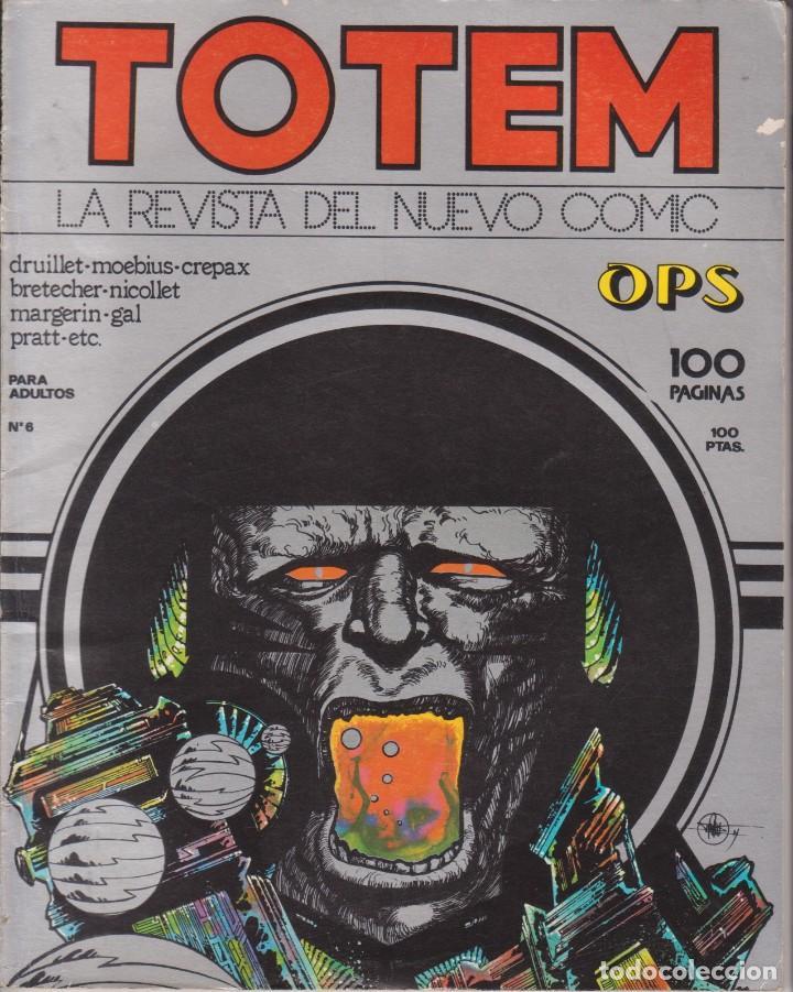 CÓMIC ` TOTEM ´ Nº 6 ED. NUEVA FRONTERA 1977 ESP.100 PGS. (Tebeos y Comics - Nueva Frontera)