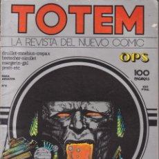 Cómics: CÓMIC ` TOTEM ´ Nº 6 ED. NUEVA FRONTERA 1977 ESP.100 PGS.. Lote 204099392