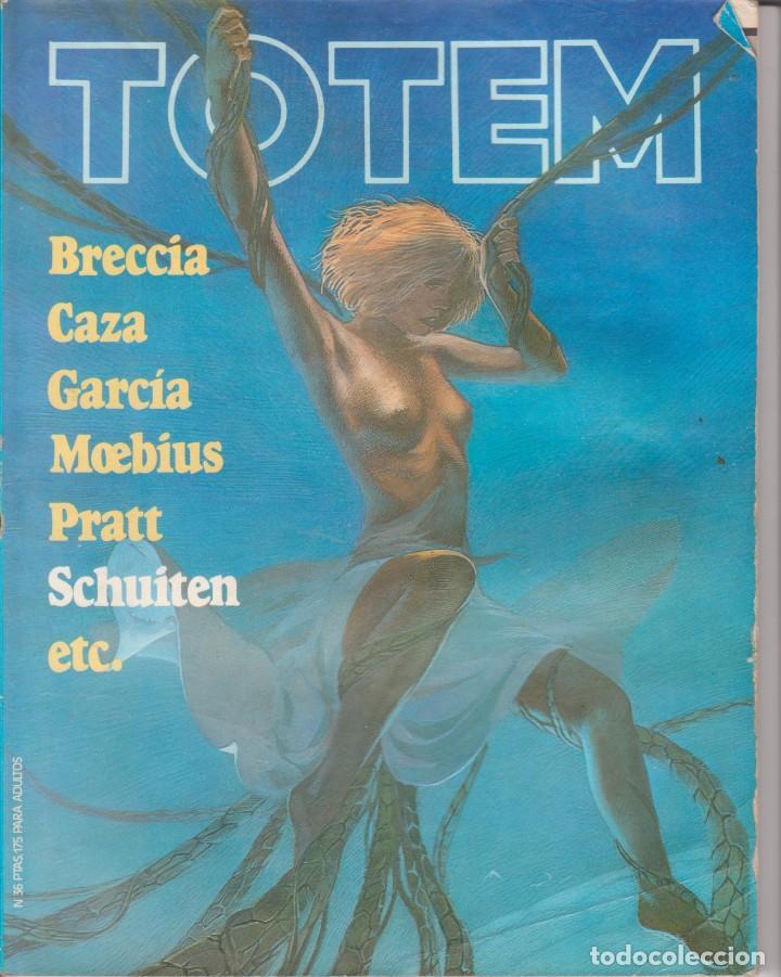 CÓMIC ` TOTEM ´ Nº 36 ED. NUEVA FRONTERA 1977 CON 98 PGS. (Tebeos y Comics - Nueva Frontera)