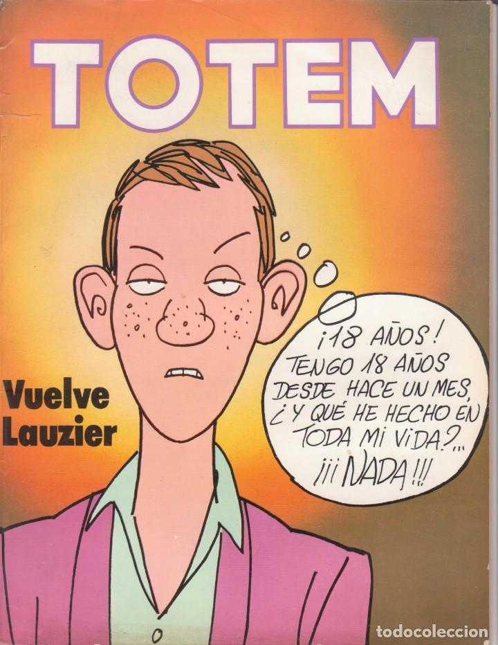 CÓMIC ` TOTEM ´ Nº 51 ED. NUEVA FRONTERA 1977 CON 98 PGS. (Tebeos y Comics - Nueva Frontera)