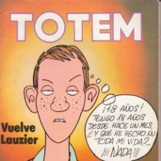 Cómics: CÓMIC ` TOTEM ´ Nº 51 ED. NUEVA FRONTERA 1977 CON 98 PGS.. Lote 204100301