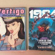 Cómics: 12 COMICS VÉRTIGO, CIMOC BLUE JEANS. Lote 205810868