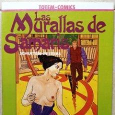 Cómics: LAS MURALLAS DE SAMARIS - SCHUITEN - PEETERS - TÓTEM COMICS - COLECCION VÉRTIGO - ED NUEVA FRONTERA. Lote 206558556