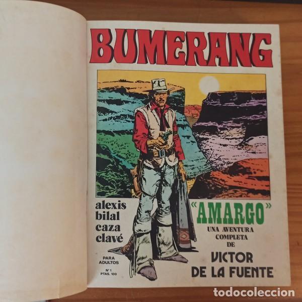 BUMERANG 2 TOMOS CON LOS 13 PRIMEROS NÚMEROS 1 A 13. NUEVA FRONTERA 1978 THORGAL VICTOR DE LA FUENTE (Tebeos y Comics - Nueva Frontera)