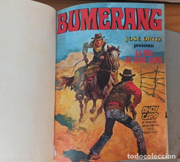 Cómics: BUMERANG 2 TOMOS CON LOS 13 PRIMEROS NÚMEROS 1 A 13. NUEVA FRONTERA 1978 THORGAL VICTOR DE LA FUENTE - Foto 3 - 207089371