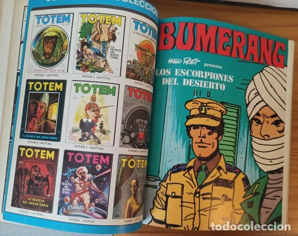 Cómics: BUMERANG 2 TOMOS CON LOS 13 PRIMEROS NÚMEROS 1 A 13. NUEVA FRONTERA 1978 THORGAL VICTOR DE LA FUENTE - Foto 4 - 207089371