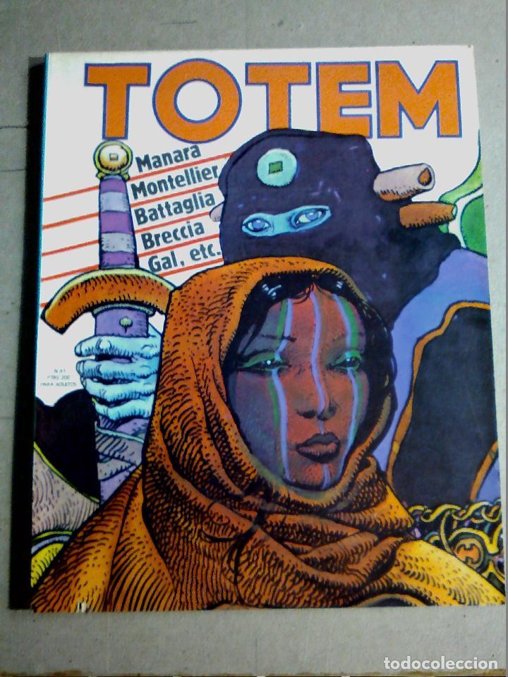 COMIC TOTEM Nº 41 PRIMERA ÉPOCA (Tebeos y Comics - Nueva Frontera)