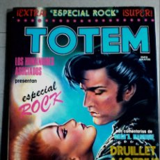 Cómics: COMIC TOTEM EXTRA Nº6 ESPECIAL ROCK Nº 1 PRIMERA ÉPOCA. Lote 207188726
