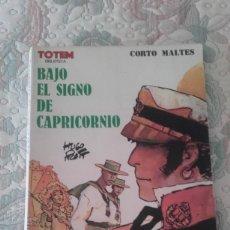 Cómics: BAJO EL SIGNO DE CAPRICORNIO (CORTO MALTES), DE HUGO PRATT (TOTEM BIBLIOTECA). Lote 209911988