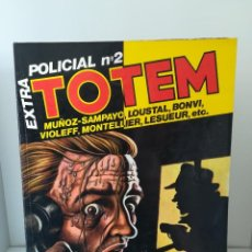 Cómics: TOTEM EXTRA NUMERO 18 ESPECIAL POLICIAL N 2 (1978). Lote 211621241