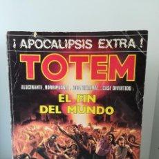 Cómics: TOTEM NUMERO 7 EL FIN DEL MUNDO APOCALIPSIS EXTRA!!! ED NUEVA FRONTERA 1977. Lote 211621319