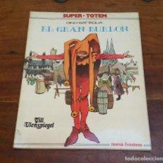 Cómics: SUPER TOTEM EL GRAN BURLON, DINO BATTAGLIA.. Lote 212842402