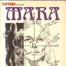 Comics : TOTEM. MARA. SIO, ENRIC. A-COMIC-5653. Lote 213574918