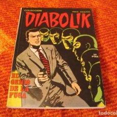 Cómics: DIABOLIK Nº 12 EL GENIO DE LA FUGA EN ESPAÑOL. Lote 213882938