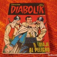 Cómics: DIABOLIK Nº 10 VIAJE AL PELIGRO EN ESPAÑOL. Lote 213885551