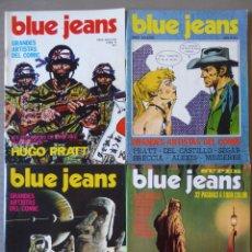 Comics : LOTE DE 4 COMICS BLUE JEANS (1, 2 Y 13) Y SUPER BLUE JEANS - EDITORIAL NUEVA FRONTERA. Lote 214069447