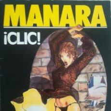 Cómics: CLIC MILO MANARA. Lote 214756695