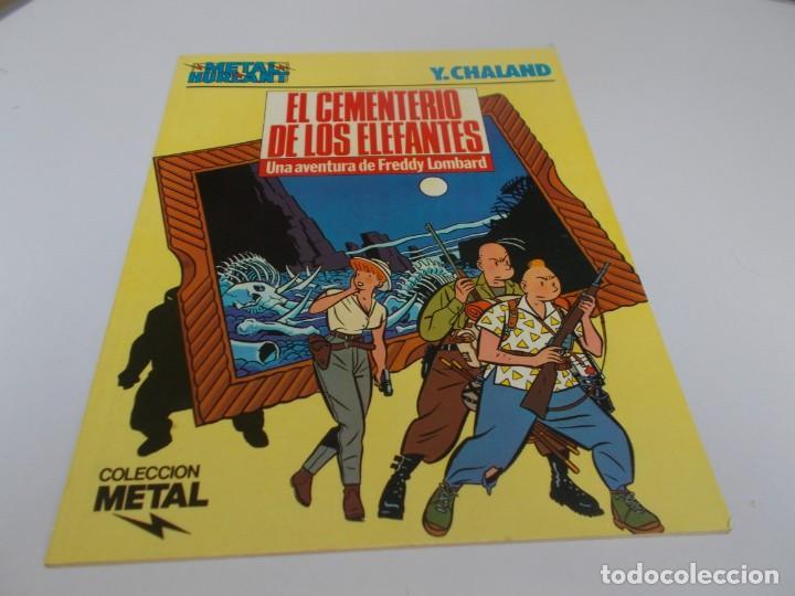 METAL HURLANT COLECCIÓN METAL Nº 22 EL CEMENTERIO DE LOS ELEFANTES (Tebeos y Comics - Nueva Frontera)