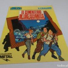 Cómics: METAL HURLANT COLECCIÓN METAL Nº 22 EL CEMENTERIO DE LOS ELEFANTES. Lote 215544960