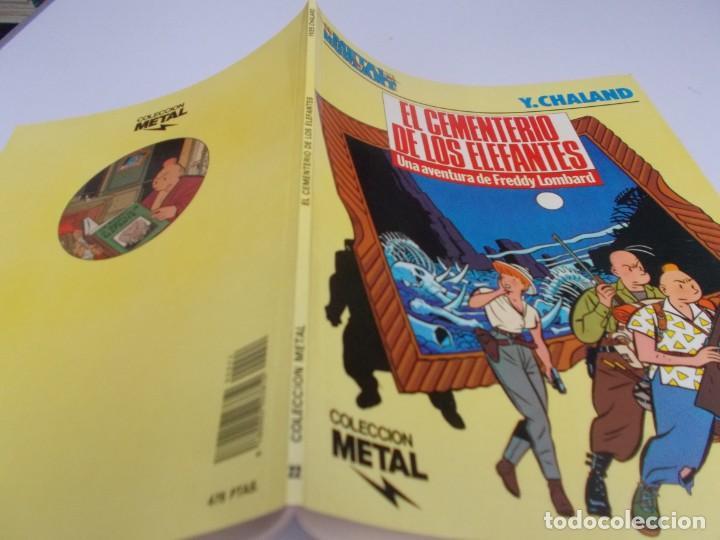 Cómics: METAL HURLANT Colección Metal nº 22 El cementerio de los Elefantes - Foto 2 - 215544960