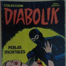 Cómics: COLECCIÓN DIABOLIK Nº 4. PERLAS MORTALES. NUEVA FRONTERA 1978. Lote 216609631