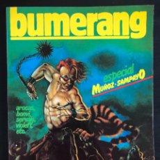 Comics: BUMERANG ESPECIAL MUÑOZ-SAMPAYO Nº 21 NUEVA FRONTERA AÑO 1978 EXCELENTE. Lote 217988497