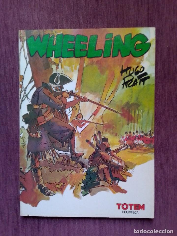 WHEELING HUGO PRATT BIBLIOTECA TOTEM (Tebeos y Comics - Nueva Frontera)