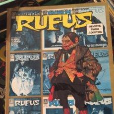 Comics : REVISTAS COMIC RUFUS PARA ADULTOS. Lote 220829321