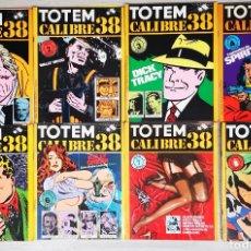 Cómics: TOTEM CALIBRE 38 - COLECCION COMPLETA - DEL NUMERO 1 AL 8. Lote 221864715