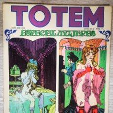 Cómics: TOTEM - ESPECIAL MUJERES. Lote 221866970
