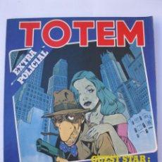 Cómics: TOTEM EXTRA - Nº 14 - ESPECIAL POLICIAL Nº 1 - EDITORIAL NUEVA FRONTERA.. Lote 221879595