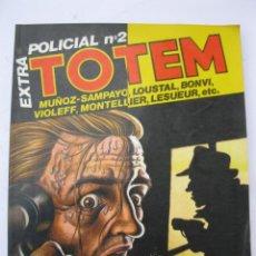 Cómics: TOTEM EXTRA - Nº 18 - ESPECIAL POLICIAL Nº 2 - EDITORIAL NUEVA FRONTERA.. Lote 221888970