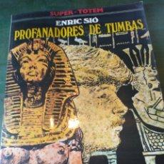 Cómics: LIBRO PROFANADORES DE TUMBAS ENRIC SIO. Lote 222103721