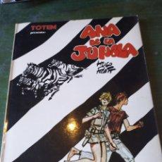 Cómics: ANN Y DAN. HUGO PRATT. SERIE COLECCIONISTAS DE EDICIONES RECORD. BUENOS AIRES 1976. ANA DE LA JUNGLA. Lote 222423403