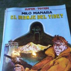 Cómics: CÓMIC SUPER TOTEM Nº 7 EL MONJE DEL TIBET MILO MANARA 1980. Lote 222424123