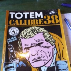 Cómics: LOTE 2 COMIC DE TOTEM CALIBRE 38 N. 1 Y 2 SERIE NEGRA. Lote 222424523