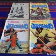 Cómics: LA HISTORIETA PRESENTA LA SERIE JERONIMO NºS 2, 3, 4 Y 12. NUEVA FRONTERA 1975. MUY RAROS.. Lote 223833358