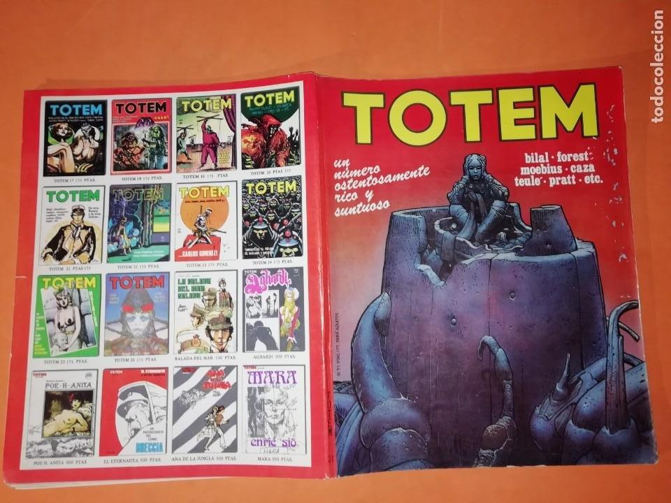TOTEM Nº 31. EDITORIAL NUEVA FRONTERA. 1977 (Tebeos y Comics - Nueva Frontera)