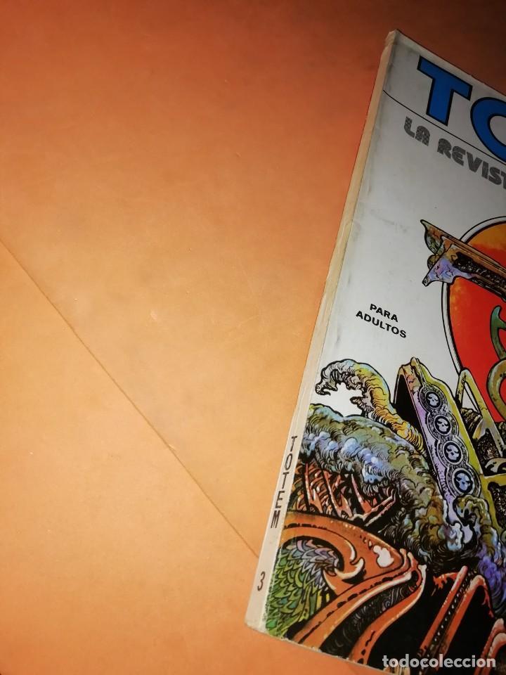 Cómics: TOTEM Nº 3. EDITORIAL NUEVA FRONTERA - Foto 2 - 224234513