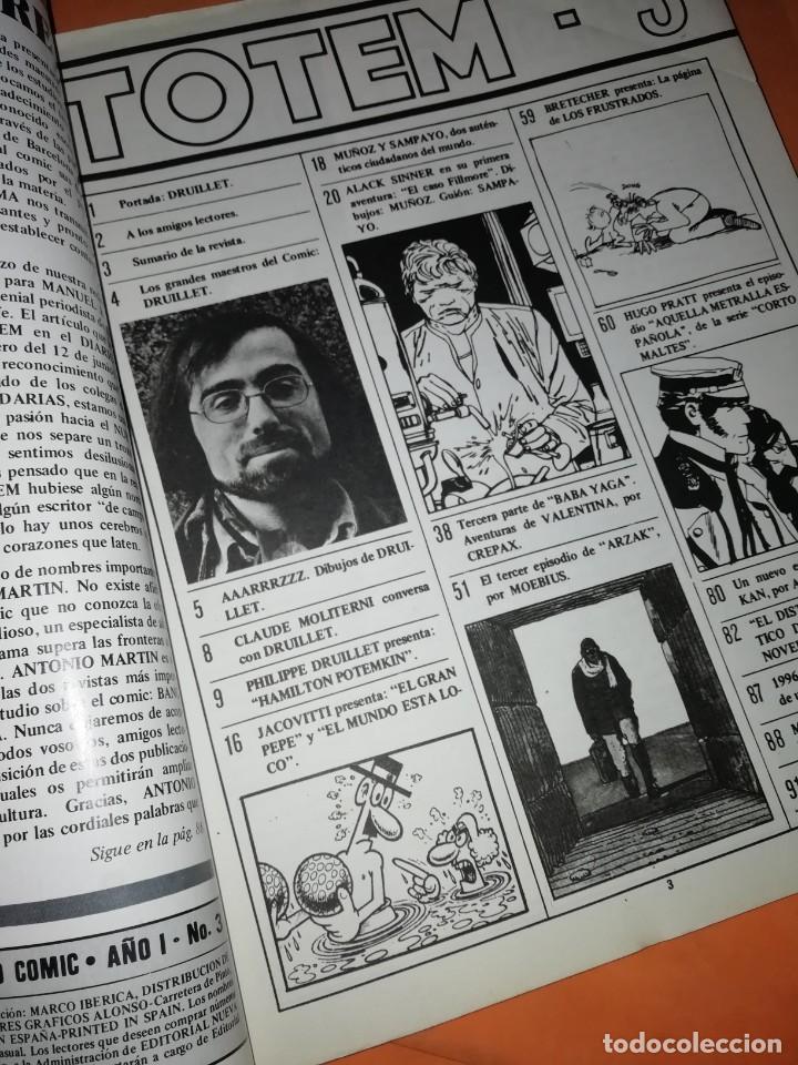 Cómics: TOTEM Nº 3. EDITORIAL NUEVA FRONTERA - Foto 4 - 224234513