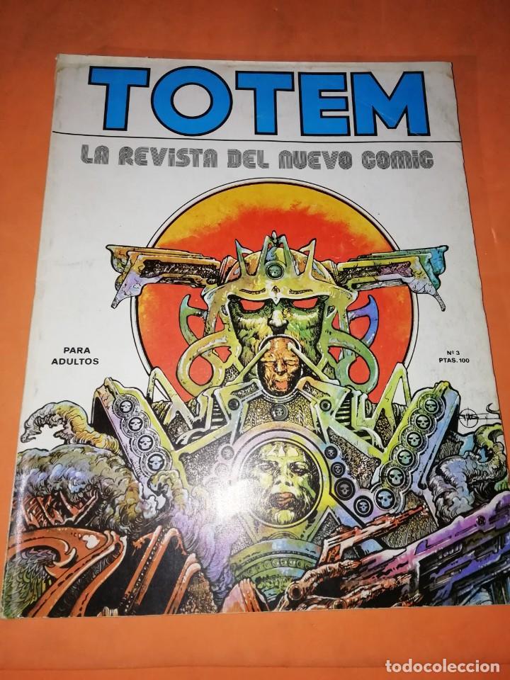 TOTEM Nº 3. EDITORIAL NUEVA FRONTERA (Tebeos y Comics - Nueva Frontera)