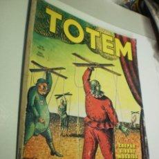 Cómics: TOTEM Nº 19 OPS, CREPAX, GIBRAT, MOEBIUS, PRATT, TOPPI 98 PÁG. (BUEN ESTADO). Lote 224359766